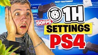 J'ai joué pendant 1h avec les SETTINGS d'un JOUEUR PS4 😰 (j'ai galéré)