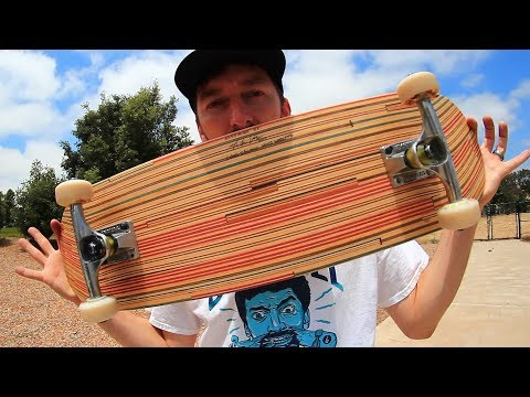 BEAUTIFUL RECYCLED SKATEBOARD!