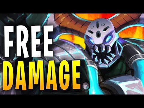GROHK THE KING OF FREE DAMAGE | Paladins Gameplay