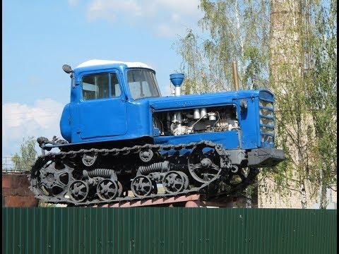 Лучший советский гусеничный Трактор ДТ-75. Преимущества и недостатки