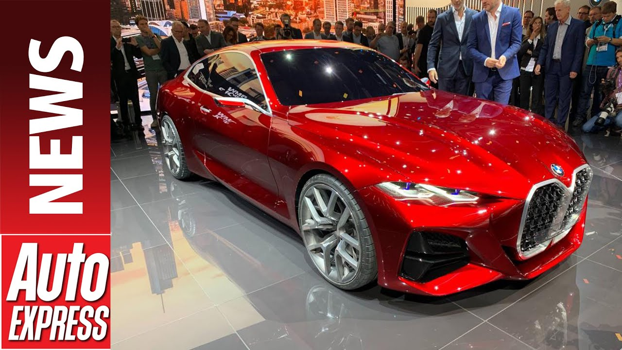 Bmw 4 Series >> Bmw Concept 4 Bold Concept Previews Next Generation 4 Series