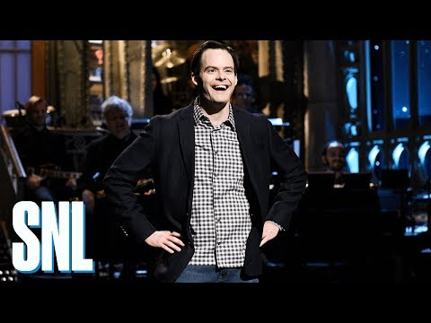 Bill Hader Explains SNL Monologue  SNL