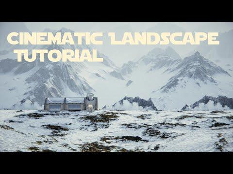 Cinematic Landscape Tutorial - in Blender