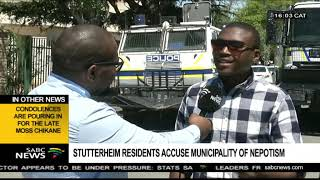 Stutterheim residents demand release of arrested protesters