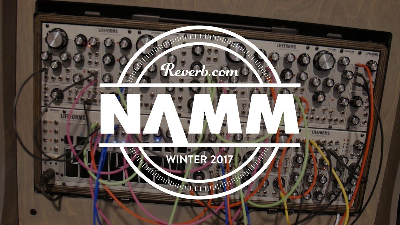 pittsburgh modular foundation evo modular synthesizer at namm 2017 youtube. Black Bedroom Furniture Sets. Home Design Ideas