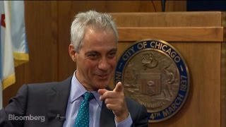 Rahm Emanuel: `Orange Is the New Black' Is My Date Night