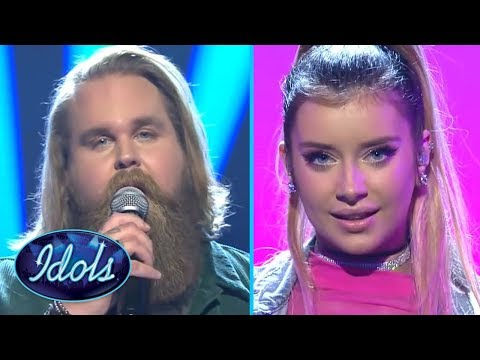 FINALISTS Chris Klafford & Hanna Ferm Semi Final Performances Idols Sverige | Idols Global