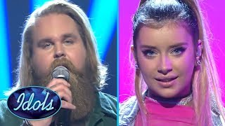 Gambar cover FINALISTS Chris Klafford & Hanna Ferm Semi Final Performances Idols Sverige | Idols Global