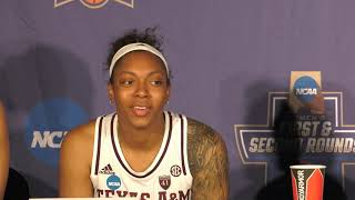 Women's Basketball: Texas A&M Postgame Press Conference 3.24.19