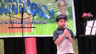 Neelesh Bokkisam singing in SP Balu's B'Day Celebrations (Maate Raani Chinnadani - (O pApA lAli) )