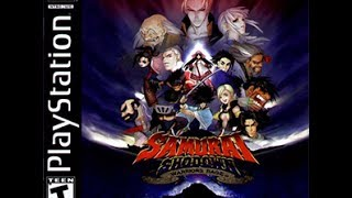 Video Game Review of Samurai Showdown Warriors Rage for the ps1