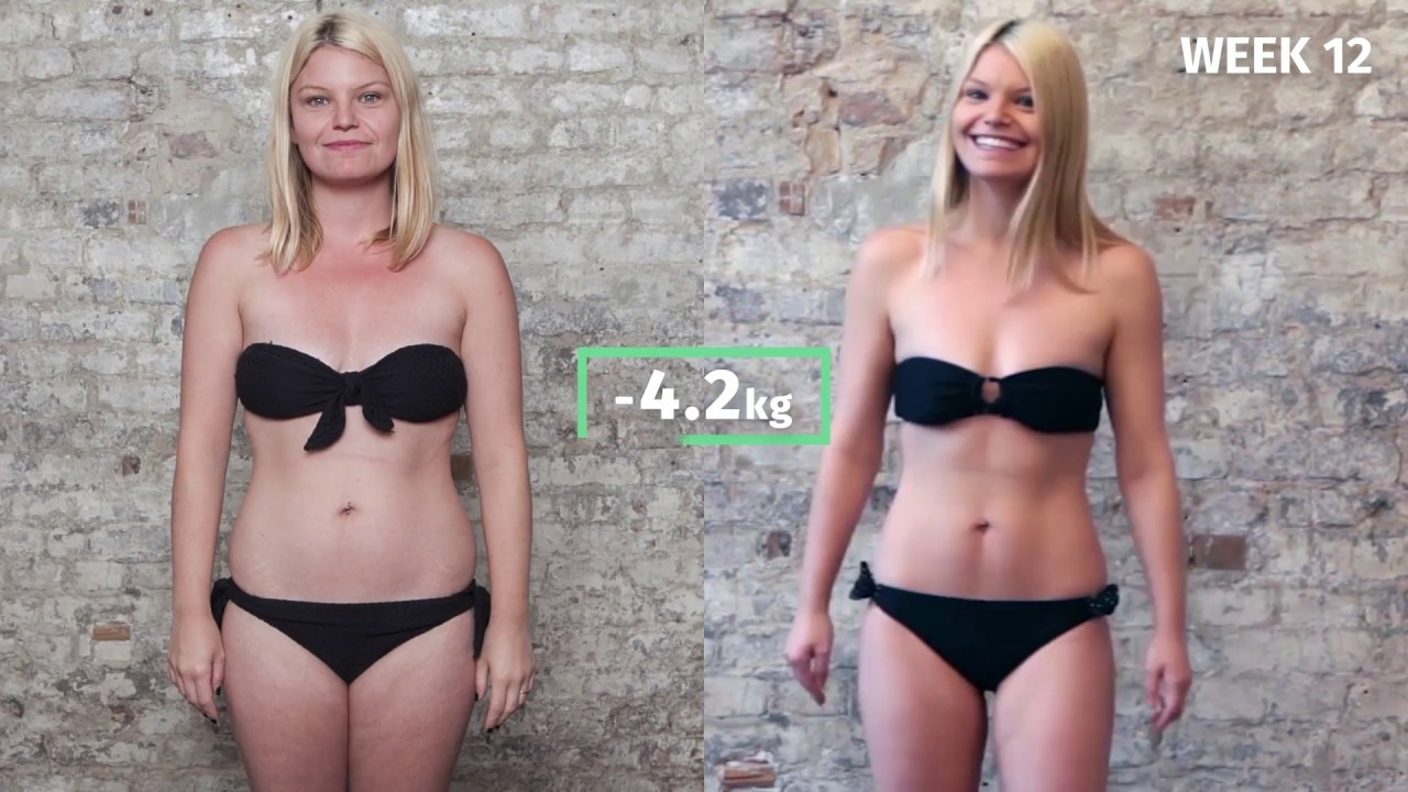 Christine S 12 Week Transformation With 8fit Youtube