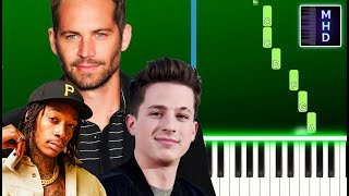 Wiz Khalifa, Charlie Puth - See You Again (EASY Piano Tutorial) (Furious 7 Soundtrack)