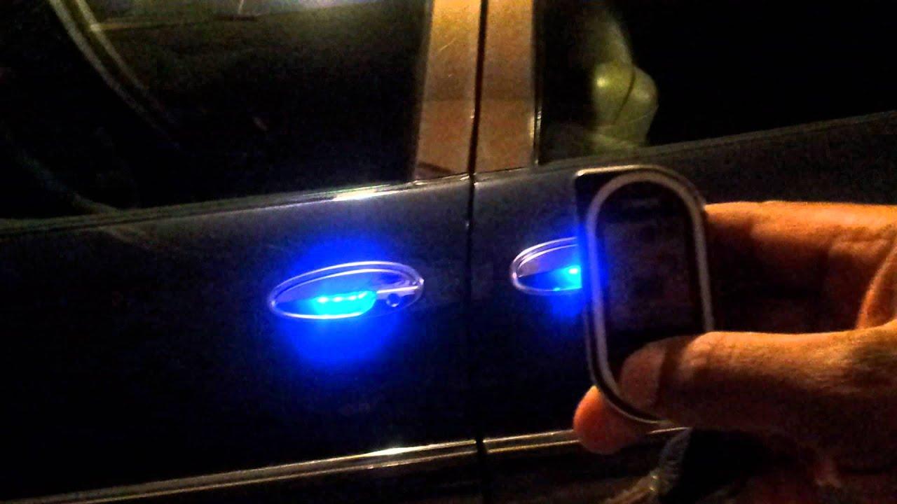 Buick Park Avenue Ultra Custom L E D Door Handle Youtube