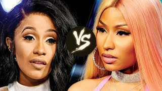 nicki minaj goes off on cardi b for stealing her style