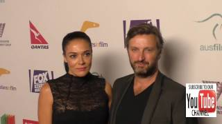 Gregor Jordan and Simone Kessell at the Australians In Film's 5th Annual Awards Gala at NeueHouse in