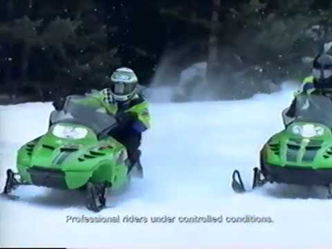 1999 Arctic Cat Action Sales Product Lineup Models Promo Snowmobile Video