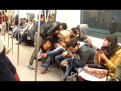 VOMIT PRANK | PhrankTV | Metro Prank | PRANKS IN INDIA 2017
