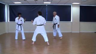 Kumite Drills with Sensei Ernie - IOGKF 2011 - June 3