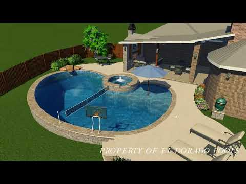 El Dorado 3D Swimming Pool Design - #8 Freeform