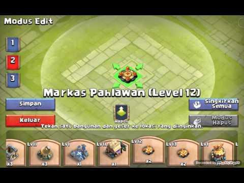 Guild War Base Town Hall LV 13 | Castle Clash