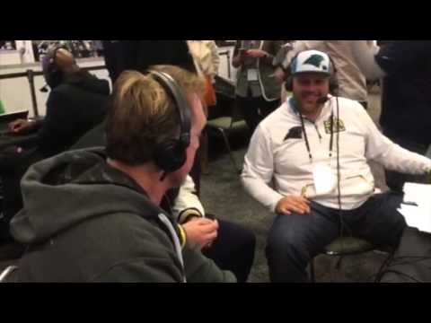 Super Bowl 50: Kevin Greene & Jackie Slater Interviews