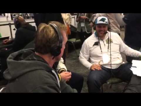 Super Bowl 50: Kevin Greene & Jackie Slater Interviews