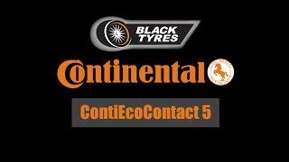 Летние шины Continental ContiEcoContact 5: Обзор характеристик и преимуществ