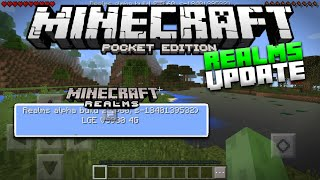 IT'S NOT 0.15.0!? - MCPE REALMS UPDATE ALPHA BUILD 2 - Minecraft PE (Pocket Edition)