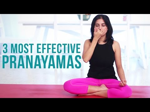 3 Most Effective Pranayamas - Deep Breathing Exercises
