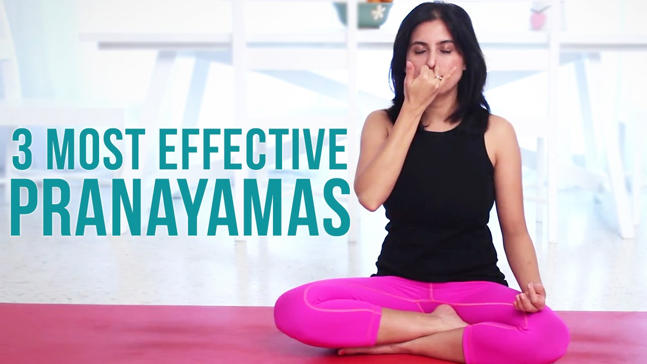 3 Most Effective Pranayamas Deep Breathing Exercises Youtube