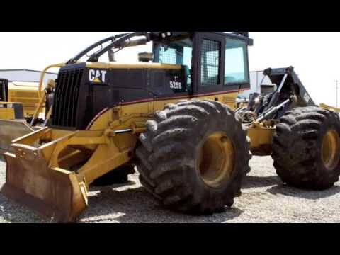 2005 CAT 525B Grapple Skidder