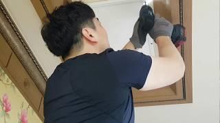 주방 식탁등 교체