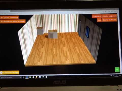 cr er sa cuisine en 3d youtube. Black Bedroom Furniture Sets. Home Design Ideas