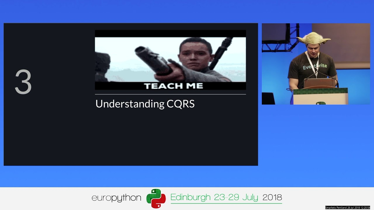 Image from Understanding and Applying CQRS