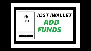 Deposit IOST to your IOST IWALLET