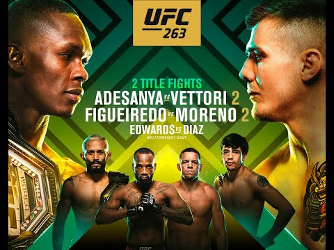UFC 263 Fight Companion! - Come Hang Out!