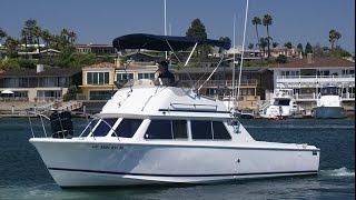 Safari 28 Flybridge Boat