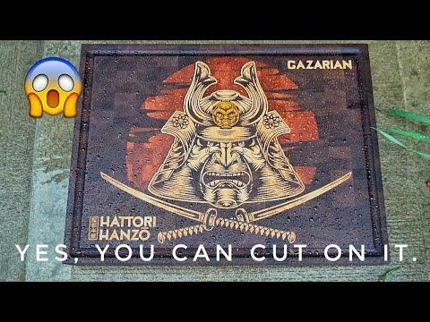 Hattori Hanzo cutting