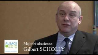 Gilbert Scholly Majorité alsacienne
