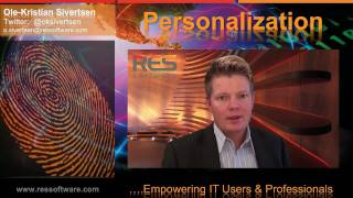 Empowering IT users through Personalization - Great Experience, Productivity & Security (Video Blog)