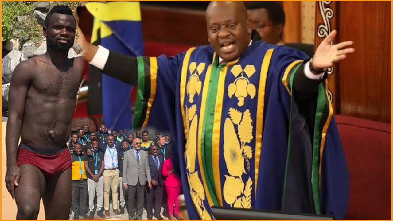 Download Bernard Morrison azua gumzo kubwa Bungeni leo baada ya timu ya Yanga kuingia Bungeni leo