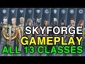 Skyforge - Gameplay of All 13 Classes in the Beta | WikiGameGuides