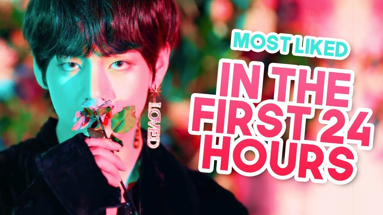 Most Liked Kpop Music Videos In The First 24 Hours Youtube