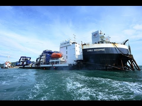 Short trailer for a documentation - Sub Sea Cable Laying - From Ha Tien to Phu Quoc Island