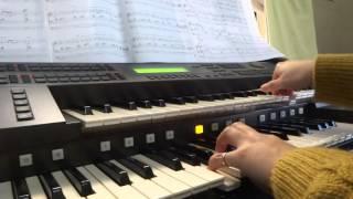 【Glass 河村隆一】 エレクトーンEL-87で弾きました。 久しぶりにエレク...
