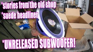 NEVER SEEN UNRELEASED SUBWOOFER - White Rider series #84