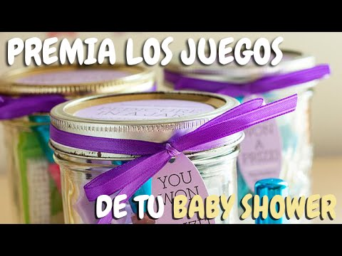 Premios Para Baby Shower Youtube