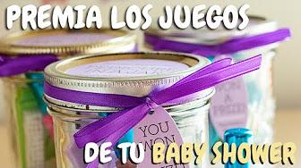 Premios Para Baby Shower Youtube