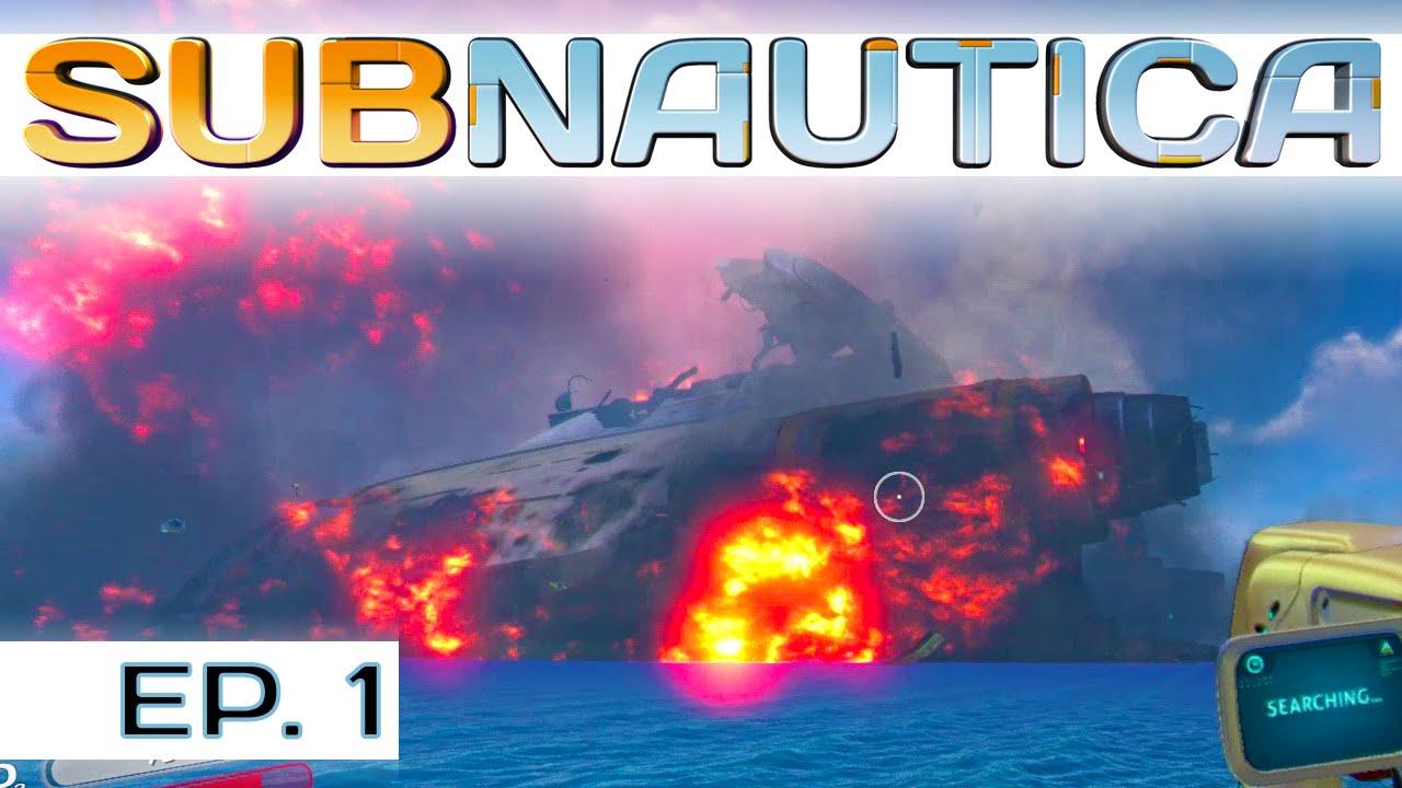 crash sequence start subnautica